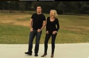 John Travolta e Olivia Newton-John fazem dueto 34 anos depois de 'Grease'