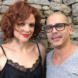 Maria Eduarda de Carvalho recebeu elogio do stylist Anderson Couto: 'Linda de qualquer jeito'