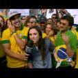 Caio Castro e Tatá Werneck dançam o hit 'Piradinha', sucesso que é trilha sonora da personagem Valdirene, intepretada pela humorista