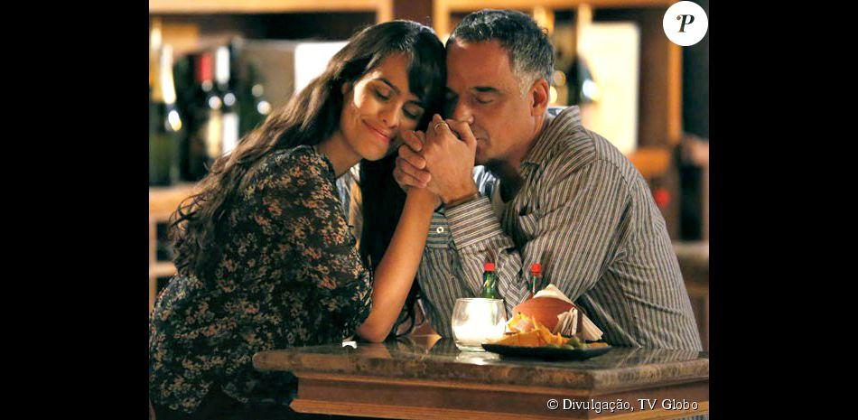 No fim de 'Sete Vidas', Vicente (Ângelo Antônio) vai para Londres encontrar Luisa (Eline Porto)