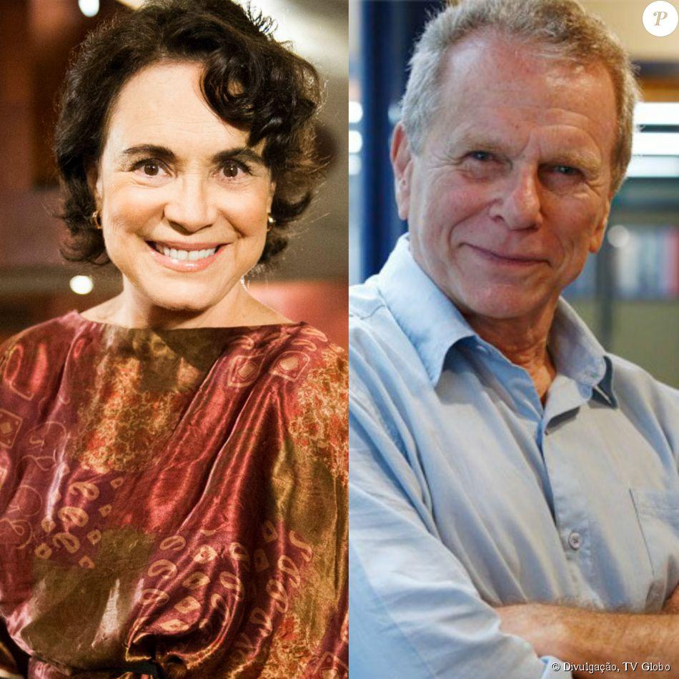 Após passar anos casada com uma mulher, Esther (Regina Duarte) termina a novela 'Sete Vidas' namorando José Renato (Jonas Bloch), seu amor no passado