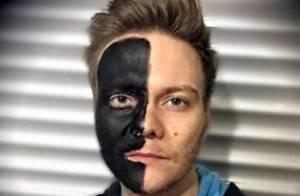 Michel Teló e Mariano pintam rosto de preto e são acusados de racismo na web
