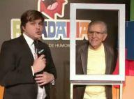 Carlos Alberto de Nóbrega revela ao 'CQC': 'Usava absorvente debaixo das axilas'