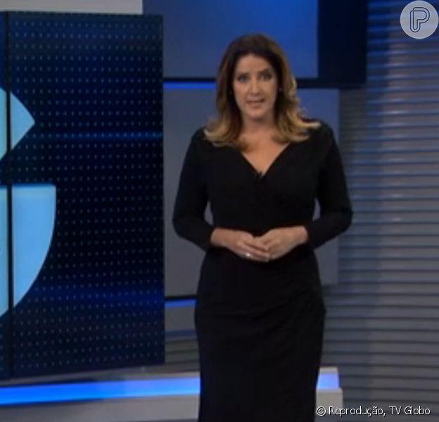 Depois de mais de um mês afastada, Christiane Pelajo voltou à bancada do 'Jornal da Globo' na segunda-feira, dia 13 de julho de 2015
