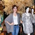Maria Casadevall vai ao lançamento da coleção Verão 2016 da Le Lis Blanc, em São Paulo, nesta terça-feira, 14 de julho de 2015