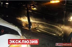 Gérard Depardieu sai ileso de acidente na Rússia e posa com policiais