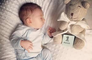 Fernanda Machado comemora primeiro mês de vida do filho, Lucca: 'É o meu mundo'