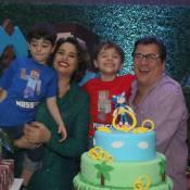Suzy Rêgo comemora aniversário de 6 anos dos filhos gêmeos, Marco e Massimo