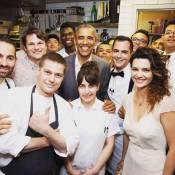 Mayana Neiva posa com Barack Obama em NY e ganha elogios: 'Tá podendo'