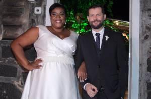 Cacau Protásio se casa com o fotógrafo Janderson Pires no Rio de Janeiro