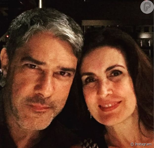 William Bonner e Fátima Bernardes estão de férias com os filhos nos Estados Unidos