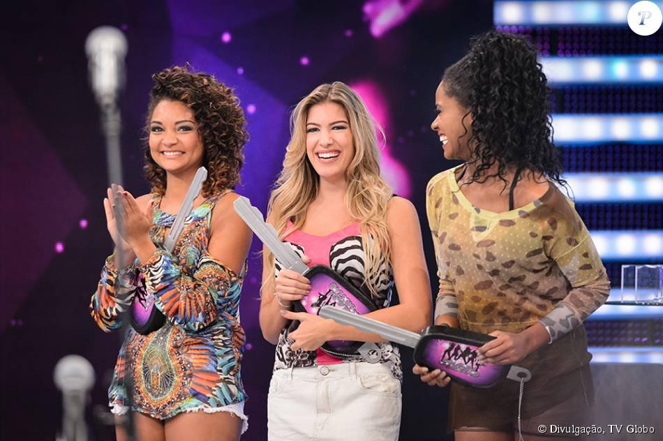 Após dois meses de competição, o público elegeu as vencedoras do concurso 'Bailarinas do Faustão', neste domingo, 26 de julho de 2015. São elas: Lorena Improta, Brennda Martins e Francielle Pimenta