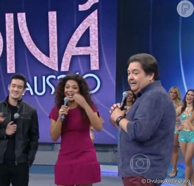 Juliana Alves, Marcos Veras e Igor Angelkorte no 'Divã do Faustão': 'Amor é plural'