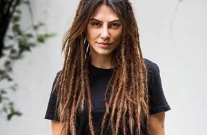 Cleo Pires conta que dreadlocks foram feitos com agulha de crochê: 'Sem cera'