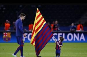 Sasha, caçula de Shakira e Piqué, completa 6 meses com chute em bola de futebol
