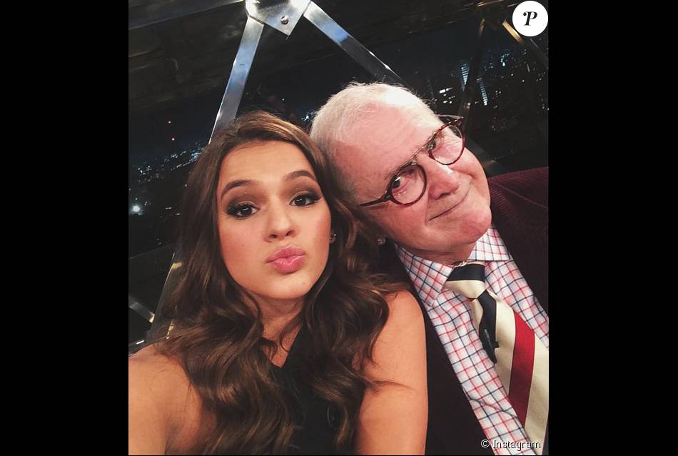 1f192de74d2 Bruna Marquezine ganhou 312.000 curtidas com a selfie que postou com Jô  Soares