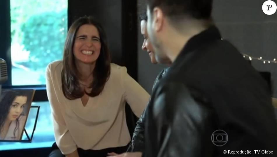 Paulo Ricardo conversa com Malu Mader em estreia de quadro no 'Vídeo Show', nesta quarta-feira, 29 de julho de 2015