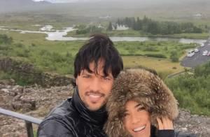 Patricia Abravanel curte férias na Islândia ao lado do noivo, Fabio Faria
