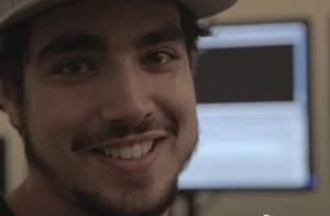Caio Castro se emociona ao assistir edição final do filme 'Aprendiz de Samurai'