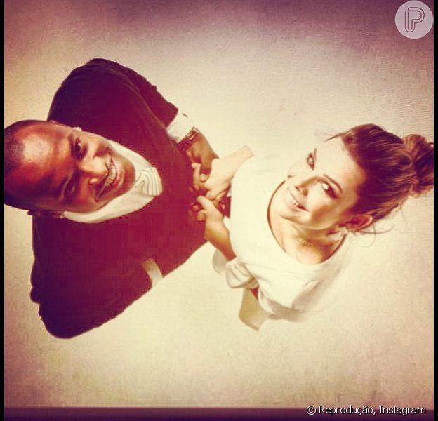Fernanda Souza contou que não pensa em fazer uma festa extravagante em seu casamento com Thiaguinho, em entrevista ao site oficial de 'Malhação', nesta quinta-feira, 5 de julho de 2013