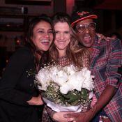 Ingrid Guimarães recebe o carinho de Dira Paes no dia de seu aniversário