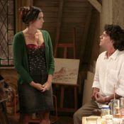'Sangue Bom':Perácio (Felipe Camargo) beija Rosemere (Malu Mader) e leva um tapa