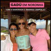 Maria Gadú viaja com a namorada, a produtora Lua Leça, para Fernando de Noronha