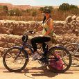 Samara posta foto no deserto do Atacama, no Chile, em 3 de dezembro de 2012