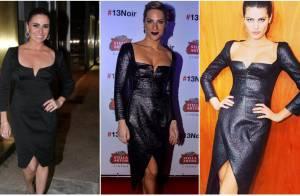Giovanna Antonelli e outras famosas repetem os looks sem perder o estilo