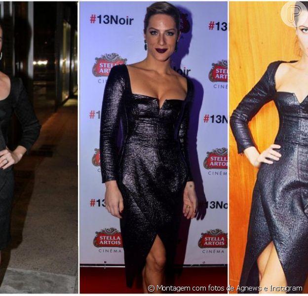 Giovanna Antonelli, Giovanna Ewbank e Isabelli Fontana: trio de beldades aposta no elegante vestido de Tufi Duek para diferentes ocasiões. Tem como escolher uma só versão?
