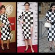 O que a estrela americana Jessica Alba, a modelo inglesa Erin O'Connor e atriz chinesa Fan Bingbing têm em comum? Ao que parece o estilo! As três apostaram no xadrez da coleção de primavera da Louis Vuitton em 2013