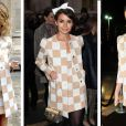 As celebridades realmente adoraram os quadriculados da Lous Vuitton este ano. Mariana Ximenes, a it girl russa Miroslava Duma ou Miranda Kerr, quem vence esse duelo?