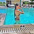 Bárbara Evans posta foto de biquíni no Instagram e seguidores elogiam: 'Perfeita'