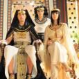 Camila Rodrigues interpreta a rainha Nefertari da novela 'Os Dez Mandamentos'