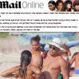 Ronaldo Fenômeno curte férias em Ibiza com os filhos e a namorada, Paula Morais, e vira manchete na imprensa internacional, nesta quarta-feira, 24 de julho de 2013
