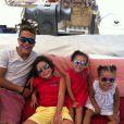 Ronaldo é pai de Ronald, Alex, Maria Sophia e Maria Alice. Alex não foi para as férias em Ibiza