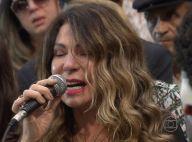 Elba Ramalho se emociona no enterro de Dominguinhos: 'A gente chorava junto'