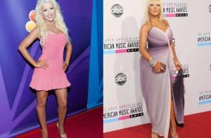 Christina Aguilera perde 10 kg e aparece mais magra em coletiva do 'The Voice'