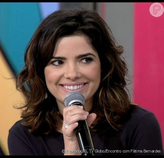 Vanessa Giácomo diz que não perdoa traição. A atriz esteve no programa 'Encontro com Fátima Bernardes' em 30 de julho de 2013