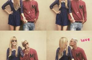 Micael Borges faz 24 anos e ganha declaração de amor da namorada, Sophia Abrahão