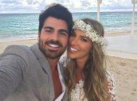 Ex-BBB's Adriana Sant'Anna e Rodrigão se casam em cerimônia íntima no Caribe