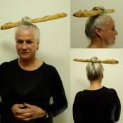 Vera Holtz posta foto com uma bisnaga no coque e fã cria termo: 'VeraHoltizes'