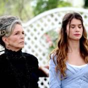 Novela 'Além do Tempo': Vitória descobre que Lívia (Alinne Moraes) é sua neta