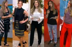 Mariana Ferrão mostra estilo durante gravidez no 'Bem Estar'. Veja looks!