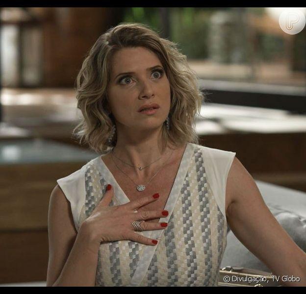Soraya (Leticia Spiller) apesenta os sintomas do mal de Alzheimer na última semana da novela 'I Love Paraisópolis', em 2 de novembro de 2015