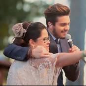 Luan Santana faz surpresa para fã no 'Caldeirão' ao cantar em seu casamento