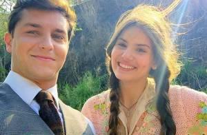 Camila Queiroz e Klebber Toledo gravam juntos primeiras cenas de 'Eta Mundo Bom'