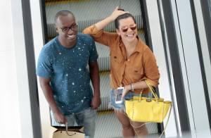 Fernanda Souza repete bolsa de R$ 9.700 em passeio no shopping com Thiaguinho