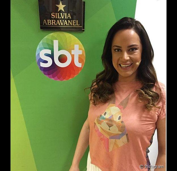 Silvia Abravanel diz que foi oprimida pela irmã Patrícia no 'Teleton 2015', exibido no último sábado (24)
