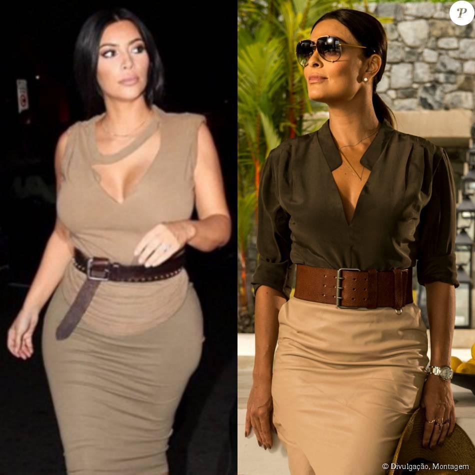 Kim Kardashian é uma das inspirações de Juliana Paes para nova personagem na novela 'Totalmente Demais'